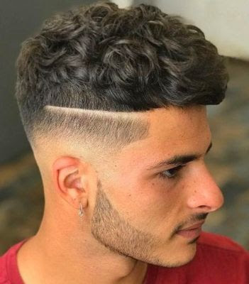 35 Modern Haircut For Men in 2020 - Messy side parts with a lineup