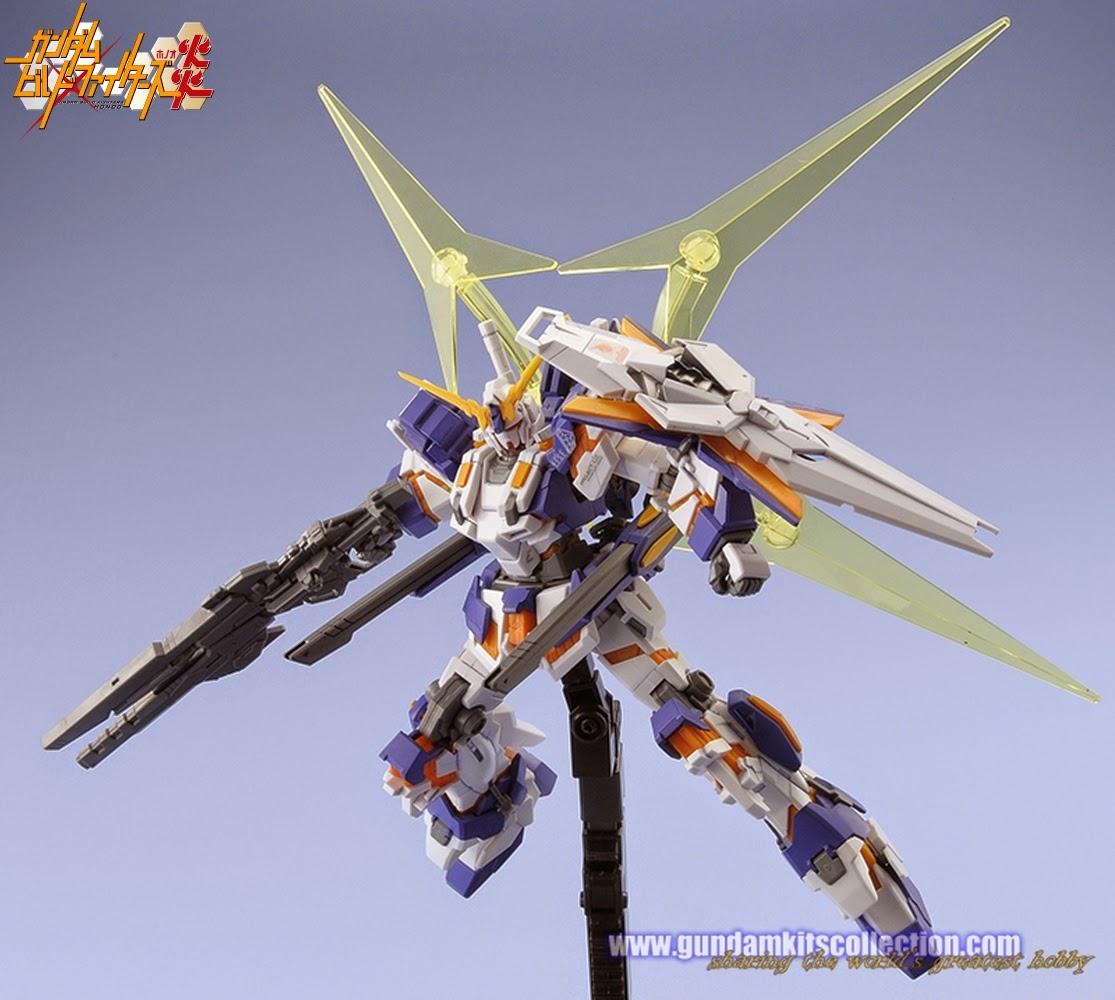 Gundam build fighters honoo customized model kits gundam for Designer builders