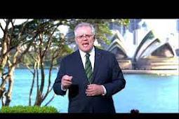Inilah Pidato Perdana Menteri Australia, Scott Morrison Saat Berbicara di Debat Umum PBB ke 75