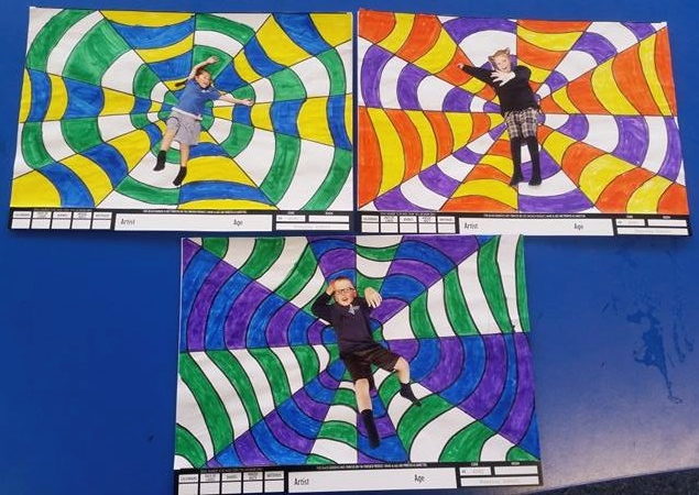 Academy Of Art Calendar: Room 11 Russley School: Calendar Art