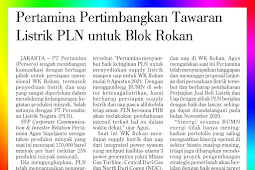 Pertamina is considering PLN's electricity offer for the Rokan Block