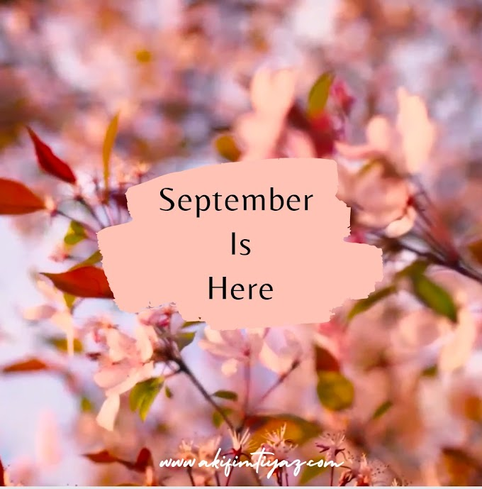 Welcome September Chapter 9 of 12