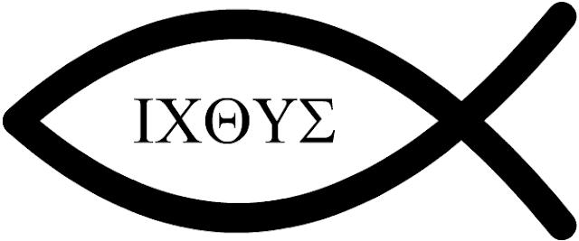 Ichthys, fisk som symbol for den tidlige kristne kirke