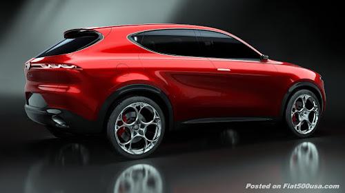 Alfa Romeo Tonale Rear