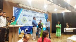 VIPNET Felicitation program Dr. Arvind C Ranade