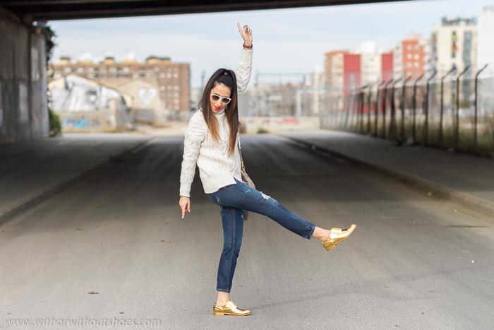 Blogger Adicta a los zapatos con derbys de Fratelli Rossetti