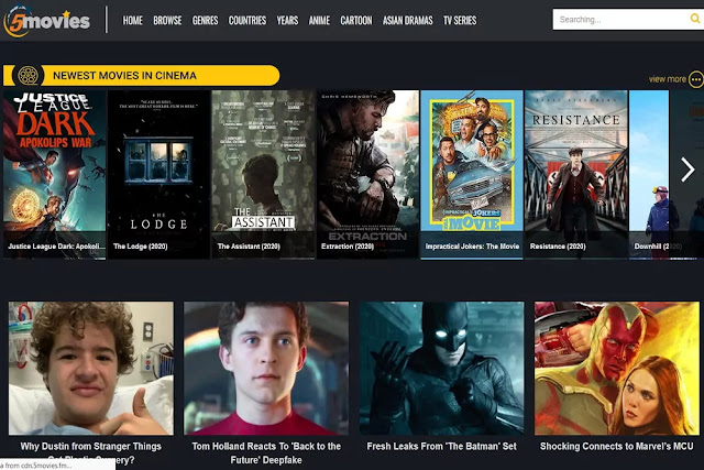 5movies : Free Movie Streaming Sites No Sign Up