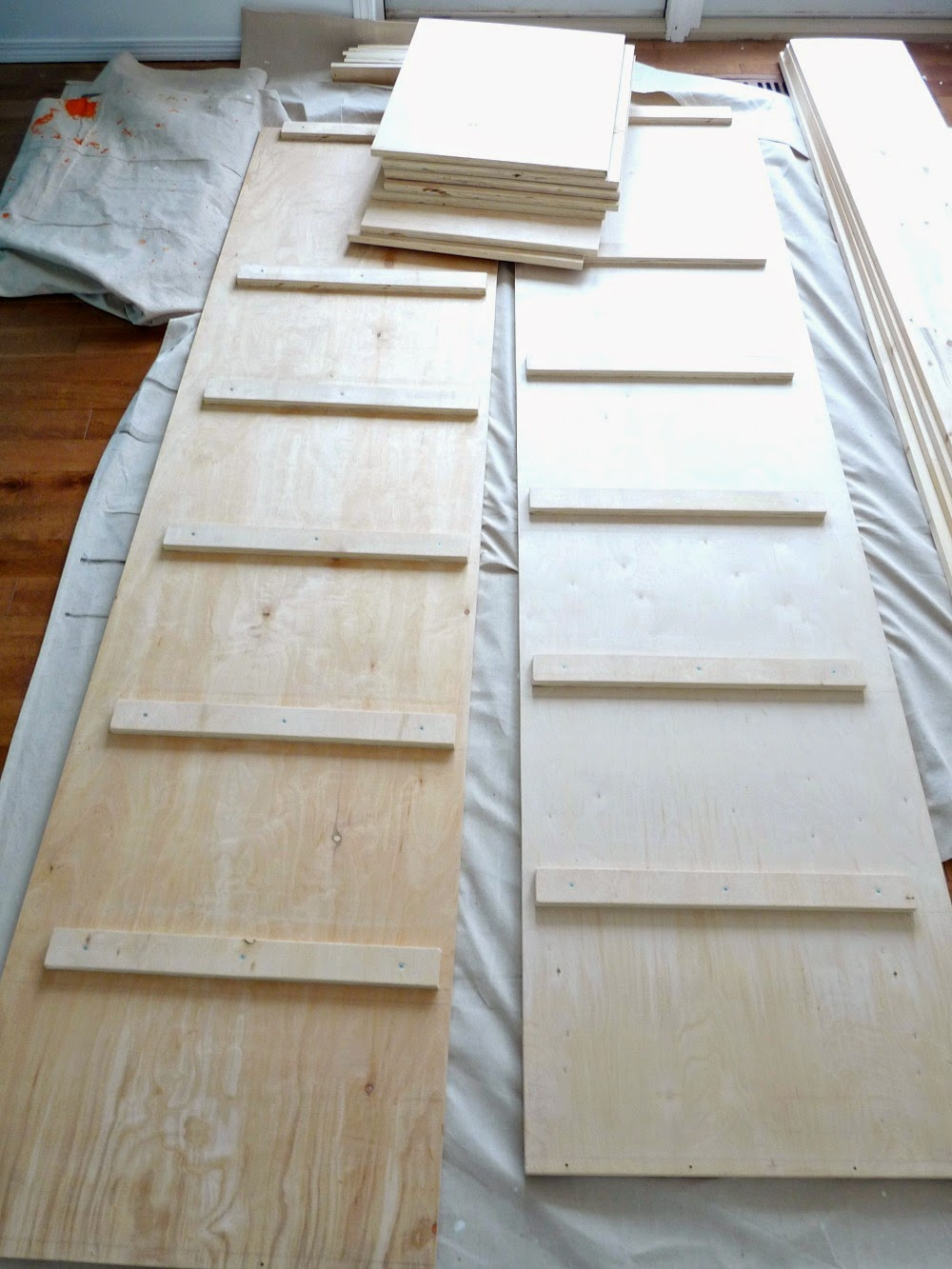 DIY Storage Cabinet with Shelves