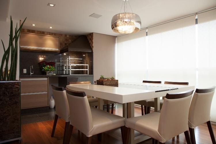Sala De Jantar Decorada Com Tapete ~ Decoração de sala de jantar  20 salas de jantar modernas e atuais