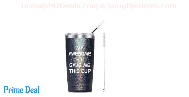 50% OFF   20 Ounce Stainless Steel Insulated Tumbler