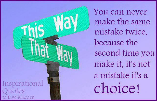 """Making The Same Mistake Twice Quotes: THE LIFE OF AN EDU""""DATER"""": Can't Make The Same Mistake"""