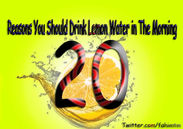 20 Reasons You Should Drink Lemon Water in The Morning