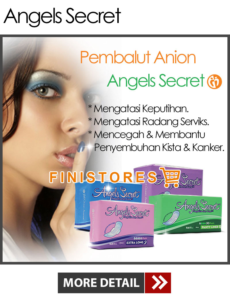 Jual Pembalut Anion Angels Secret