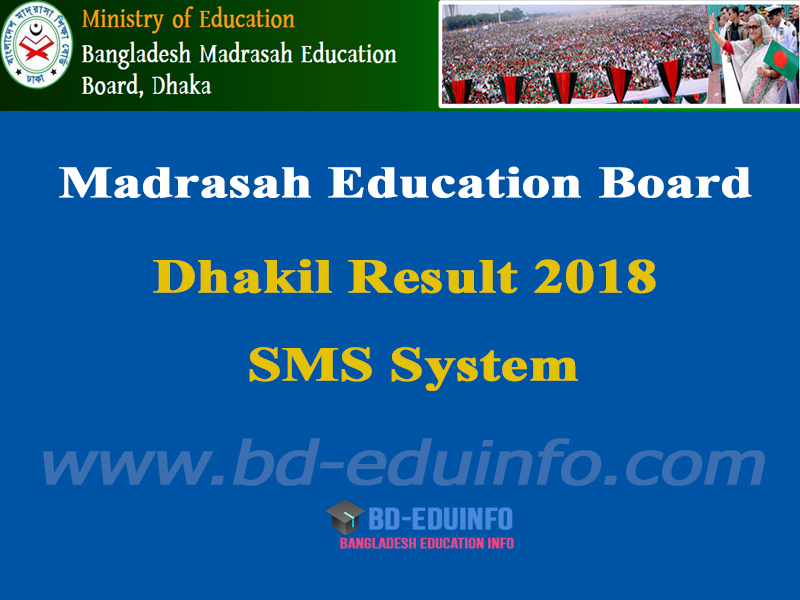 Madrasha Board Dhakil Result 2018