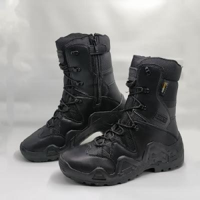 Sepatu PDL Blackwater Hi BLW PRO 9 Inch Hitam