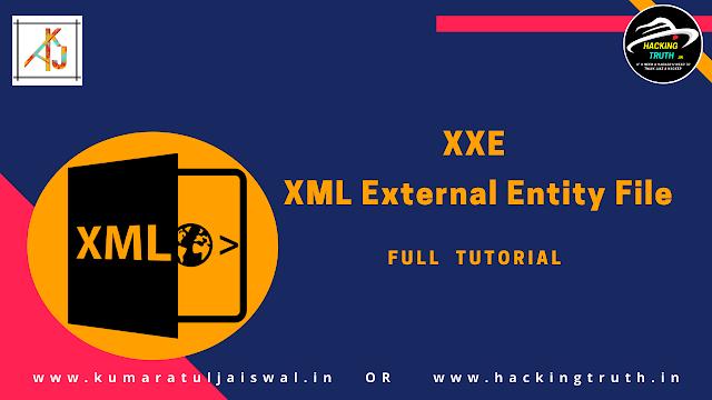 XXE - XML External Entity Vulnerability