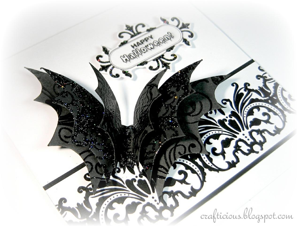 Crafticious Digital Lace Borders Amp Bats
