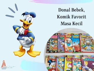 Donal bebek kartun favorit masa kecil