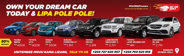 Hot Car Deals Kenya