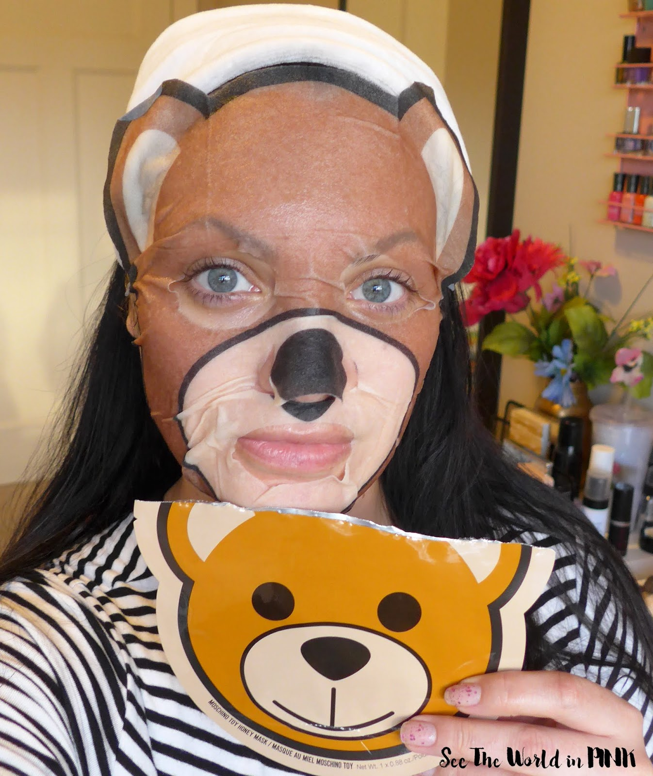 Skincare Sunday - Moschino + Sephora Collection Toy Honey Mask
