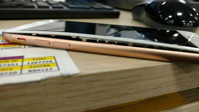 Đã phát hiện chiếc iPhone 8 Plus đầu tiên bị phồng pin tại thị trường quê nhà