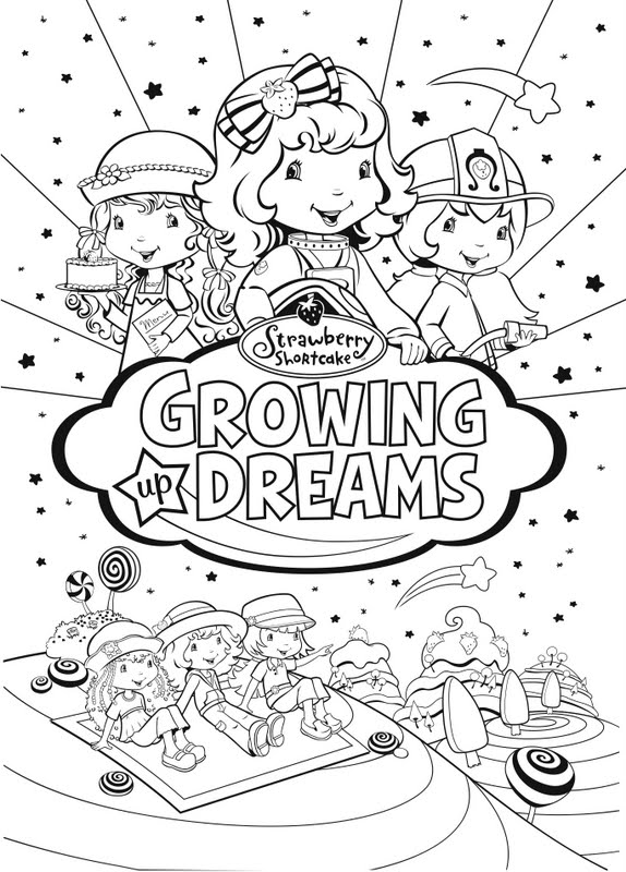 Family Movie Night with Strawberry Shortcake Growing Up