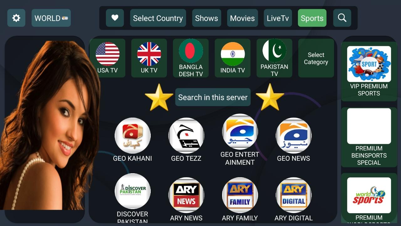شاهد الالاف من القنوات العالمية والعربية والافلام تطبيق اسطوري/HD-TV