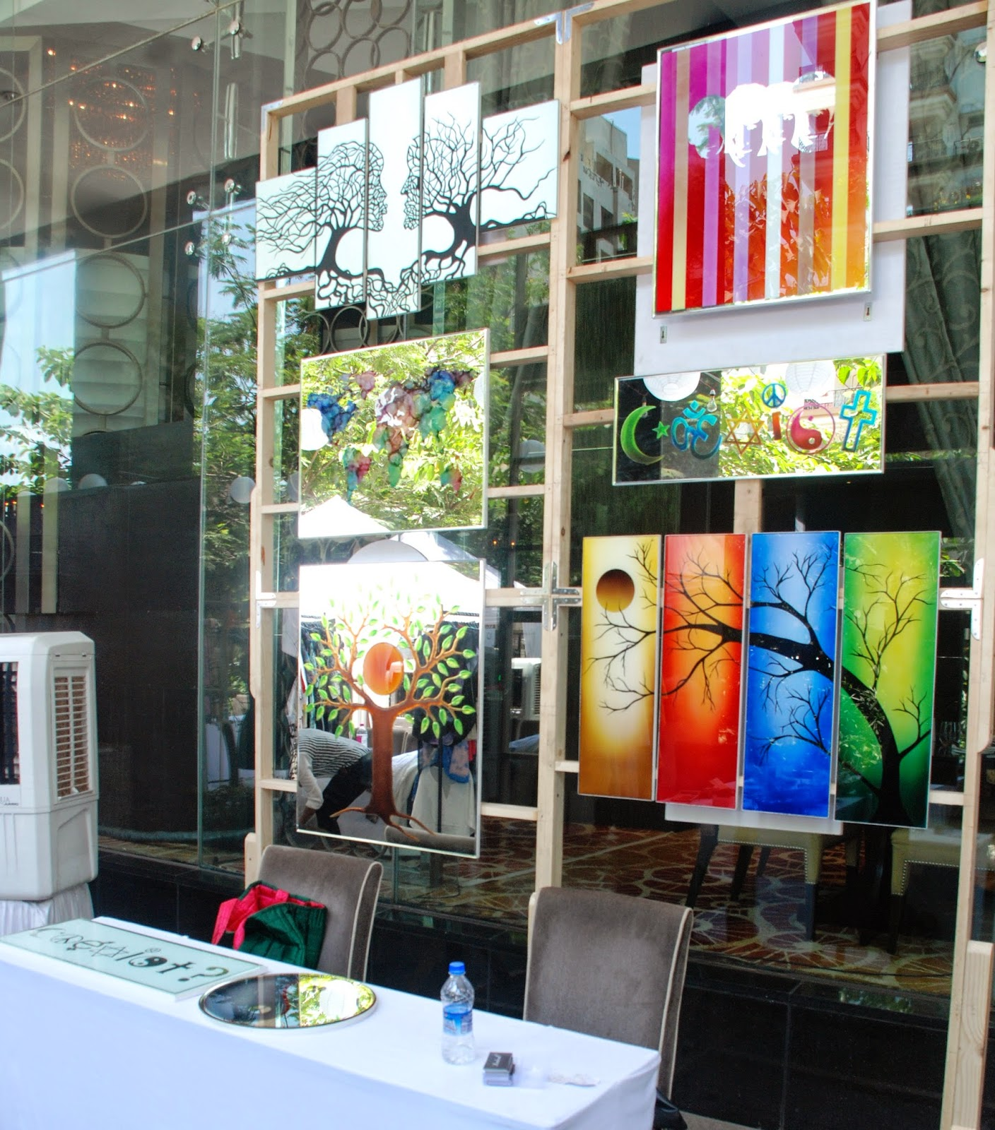 Radical Mirrors at Couture & Canvas Brunch at Sofitel,BKC