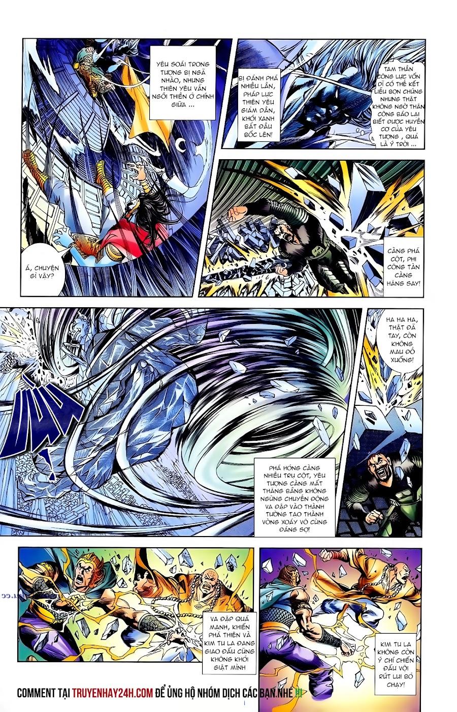 Cơ Phát Khai Chu Bản chapter 102 trang 21