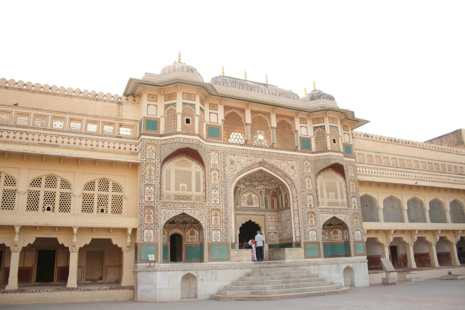 The Amer Fort Also Known As Amber Fort Located In Jaipur