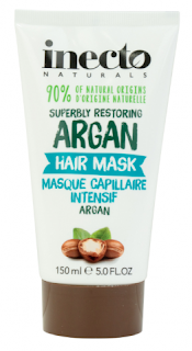 Inecto Superbly Restoring Argan Hair Treatment, full-size RRP $6.99