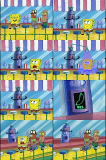 Polosan meme spongebob dan patrick 151 - spongebob berbicara di pondok super winny junior / Weenies junior