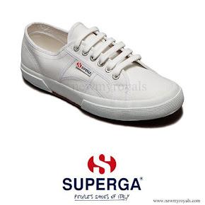 Kate Middleton wore Superga Cotu Sneakers