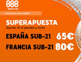 888sport superapuesta euro sub21 España vs Francia 27 junio 2019