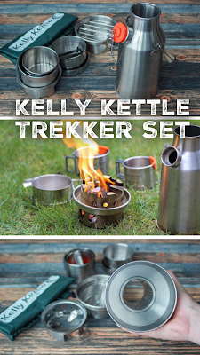 Kelly Kettle | Sturmkanne, outdoor Wasserkocher | Trekker Kettle Set | Review – Test | Outdoor Blog, wanderblog | Kocht Wasser in 3 -5 Minuten