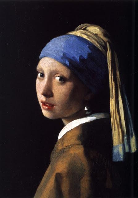 La joven de la perla Johannes Vermeer