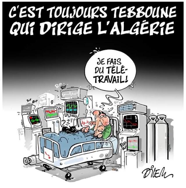 C'est toujours Tebboune qui dirige l'Algérie