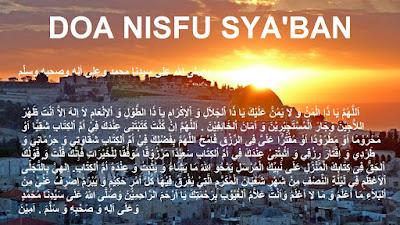 Keutaman Malam Nisfu Sya'ban Beserta Doa Nisfu Syaban 1442 H