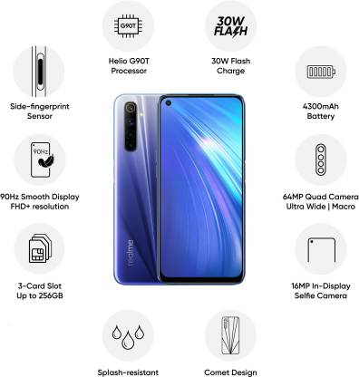 Realme 6 Unboxing & Hands On - 90Hz, Helio G90T, 64MP