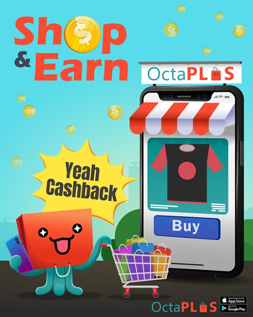 octaplus, Earn Passive Income &  Cashback with OctaPLUS Like a PRO, cashback, online shopping, cny shopping, passive income, lifestyle