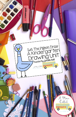 This Writing Workshop Kindergarten Drawing Unit is perfect for early childhood, Kindergarten, First Grade or Homeschool writers to develop drawing skills. This drawing unit consists of drawing prompts and drawing activities for Kindergarten writers. Learning to draw will build your students' writing skills through prompts, activities and ideas to use during your Kindergarten Writing Workshop. Kindergarten drawing supports better Kindergarten writers. (Kindergarten, preK, Homeschool, 1st Grade)