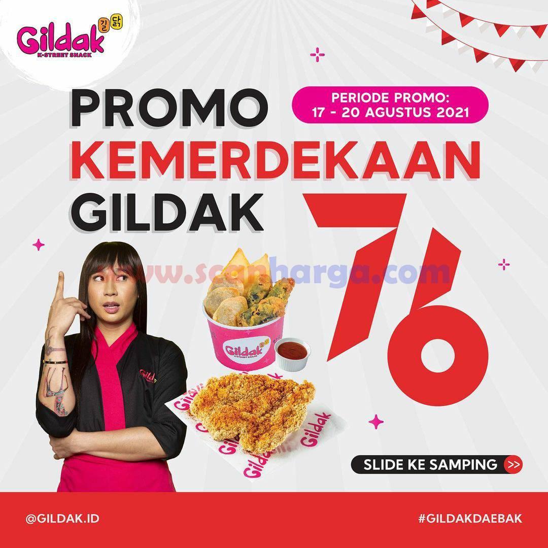 GILDAK Promo Kemerdekaan HUT RI 76 - Harga Paket MERDEKA mulai 50 Ribu-an