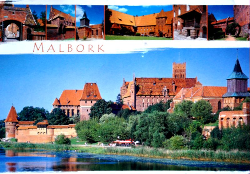 historia zamku w malborku
