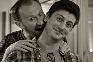 Mark Gatiss and Scott Handcock