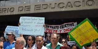 Educadores llaman a protesta nacional el #16Sep, día que inicia nuevo año escolar