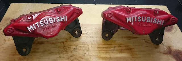powder coating brake calipers cleaning stripping