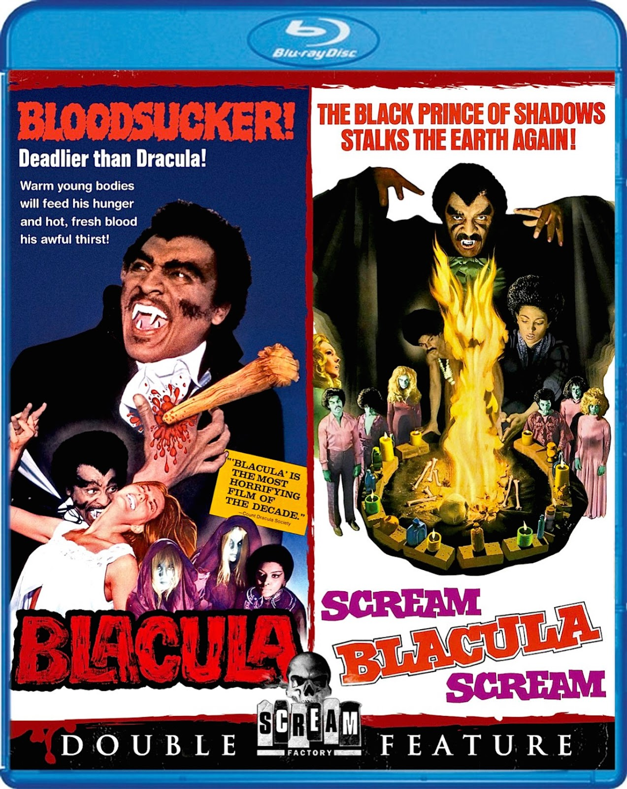 Blu-Ray And Dvd Covers Scream Factory Double Feature Blu -2627