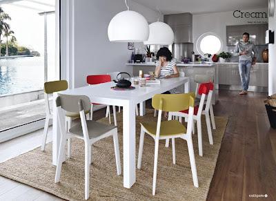 Design a roma appunti da autodidatta design italiano e for Tavoli cucina calligaris