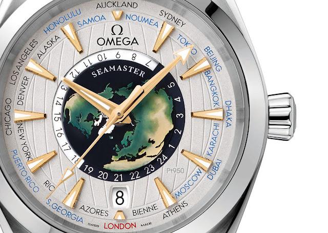 Réplicas De Relojes Omega Seamaster Aqua Terra Worldtimer Edición Limitada