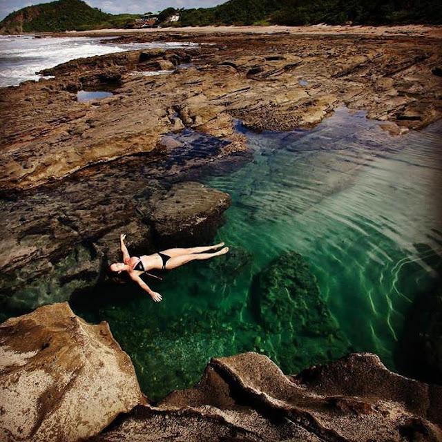 natural ocean pools popoyo nicaragua